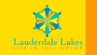 Bandera de Lauderdale Lakes, Florida