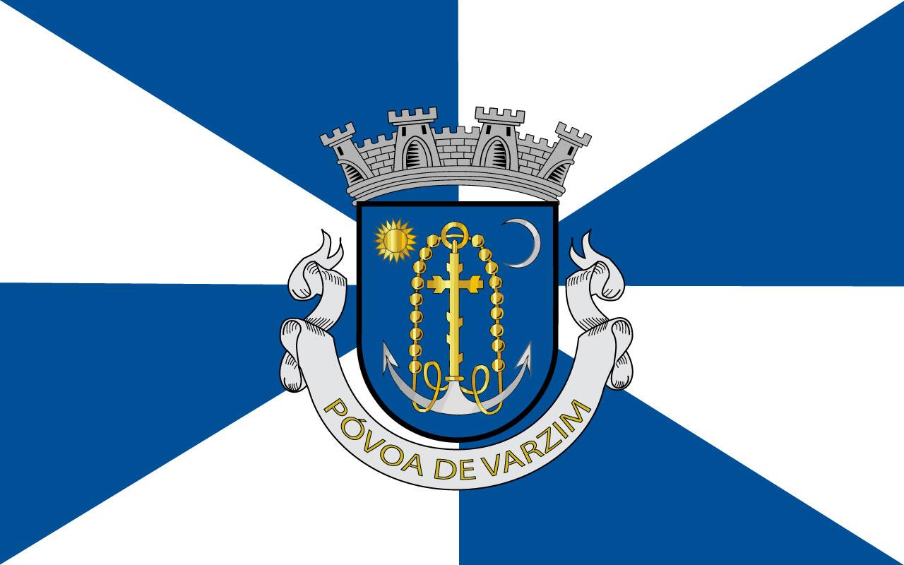 Bandera de Póvoa de Varzim