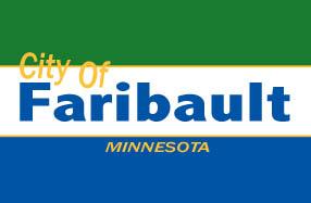 Bandera de Faribault, Minnesota
