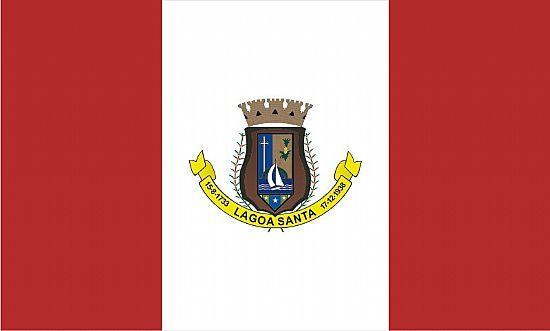Bandera de Lagoa Santa, Minas Gerais