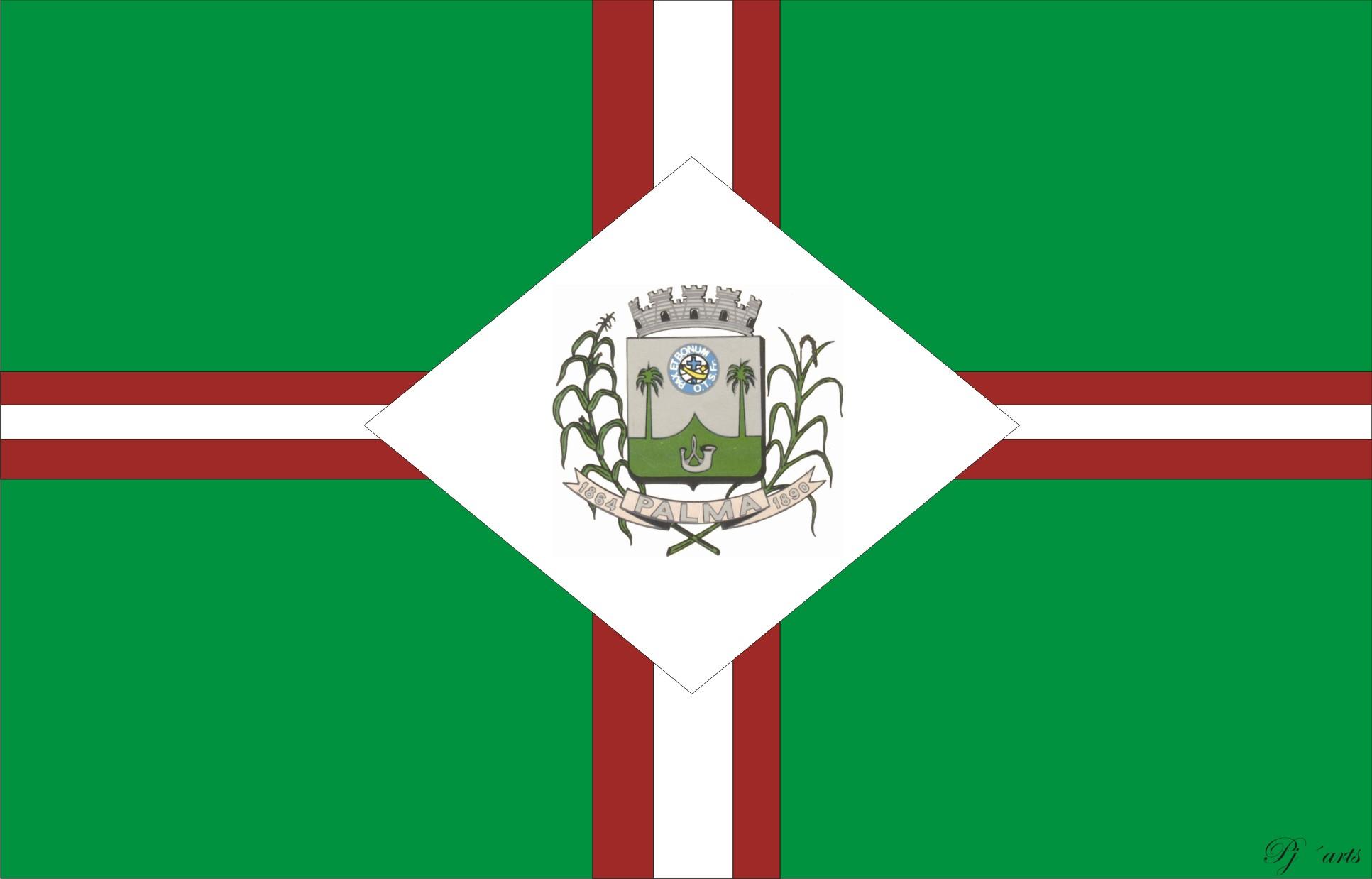 Bandera de Palma, Minas Gerais
