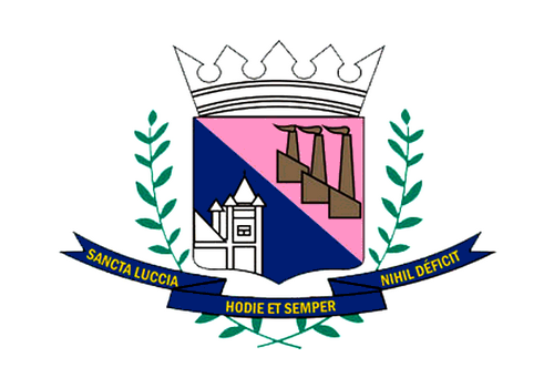 Bandera de Santa Luzia, Minas Gerais