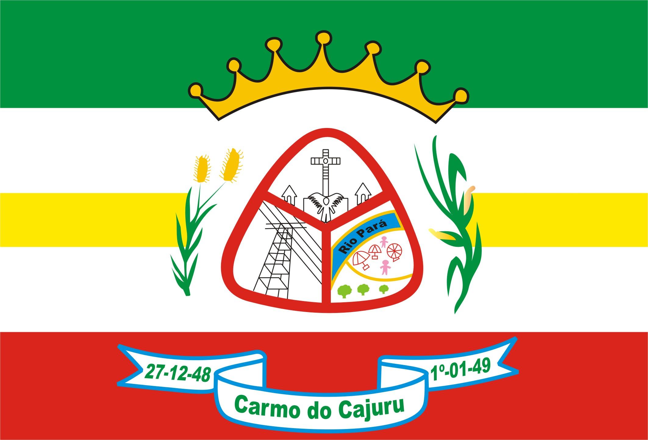 Bandera de Carmo do Cajuru