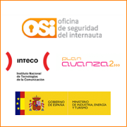 Oficina de seguridad del Internauta. Inteco. Plan Avanza 2. Gobierno de España. Ministerio de Industria, turismo y comercio