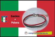 Bandera de Italia + pulsera