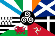 Bandeira do Celtic Nations