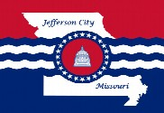 Bandera de Jefferson City