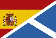 Bandera de España Escocia