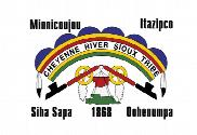Bandeira do Cheyenne River Sioux Tribe