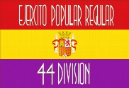 Bandeira do Ejercito popular Regular 44 División