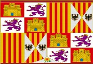 Flag of Spanish Kingdom 1492-1504
