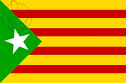 Bandiera di Estelada Verde
