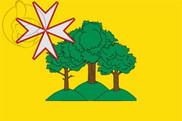 Bandera de Almunia de San Juan
