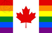 Flag of Canada Gay Flag