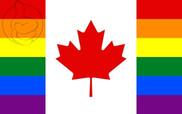 Bandera de Canada Gay