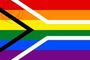 Bandera de Sudáfrica Gay