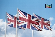 pack de Pack 3 flags of United Kingdom