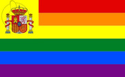 Bandeira do Espanha Gay