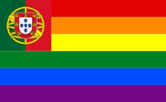 Flag of Portugal Gay