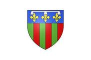 Bandera de Fleury-les-Aubrais
