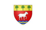 Bandera de Dampierre-en-Burly