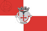 Flag of Lagoa (Açores)