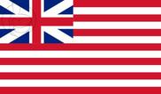 Bandera de Compañía Británica de las Indias Orientales (1707-1801)