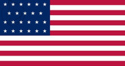 Flag of United States (1820 - 1822)