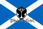 Bandera de Escocia Tomorrowland