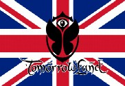 Drapeau Royaume-Uni Tomorrowland
