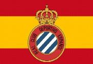Bandera de Real Club Deportivo Español Personalizada