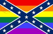 Drapeau de la États confédérés d\'Amérique GAY