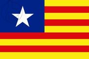 Bandiera di Estelada ianqui (Estado Aragonés)