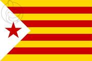 Bandera de Estelada Blanca PSAN