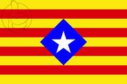 Bandera de Estelada romboidal