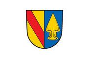 Bandera de Teningen