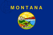 Drapeau de la Montana