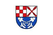 Bandera de Burkardroth