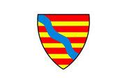 Flag of Lohr am Main