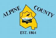 Bandera de Condado de Alpine