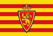 Bandera de Reino de Aragón personalizada