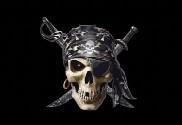 Bandera de Pirata con pañuelo