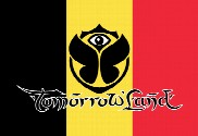 Flag of Tomorrowland Belgium