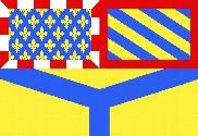 Bandera de Yonne
