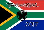 Bandiera di Tomorrowland Sudafrica 2017