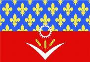 Bandera de Seine-Saint-Denis