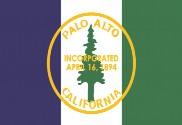Bandeira do Palo Alto, California