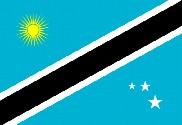 Bandera de Isla Caribe