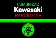 Bandera de Comunidad Kawasaki Barcelona