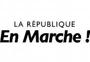 Bandera de caminando en la República